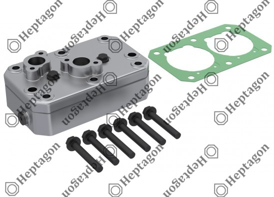 Complete Cylinder Head / 9304 680 075