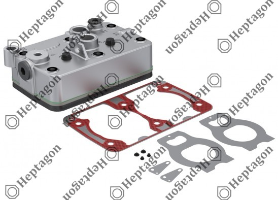 Complete Cylinder Head / 9304 680 103