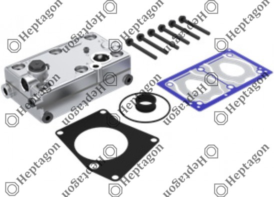 Complete Cylinder Head / 9304 680 131