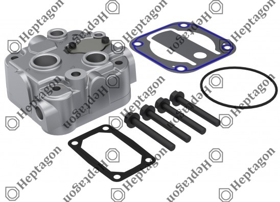 Complete Cylinder Head / 9304 680 169