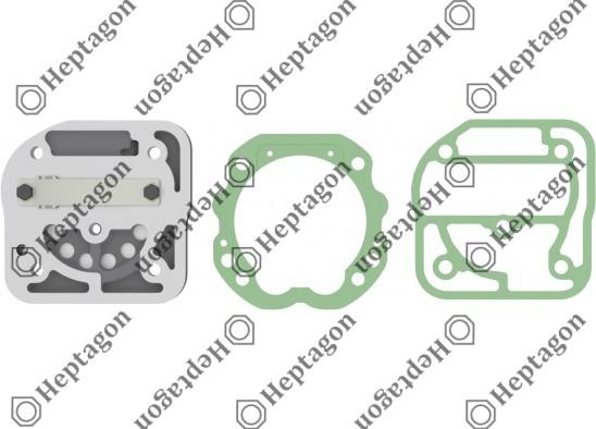 Valve Plate Kit / 9304 700 010