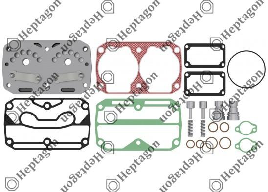 Valve Plate Kit / 9304 700 059