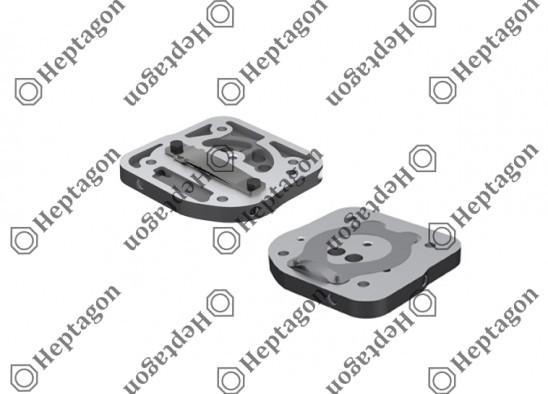 Valve Plate / 9304 710 036 / II38715F004 I84870004
