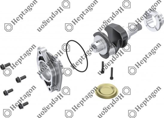 Crankshaft Repair Kit / 9304 750 009