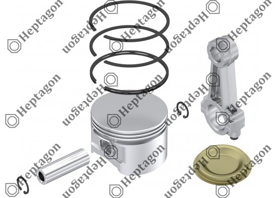 Connecting Rod & Piston / 9304 790 001