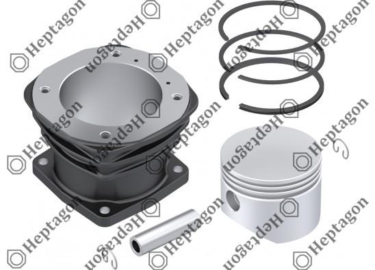 Cylinder Liner Set / 9304 830 008 / 81541056009  I789790061