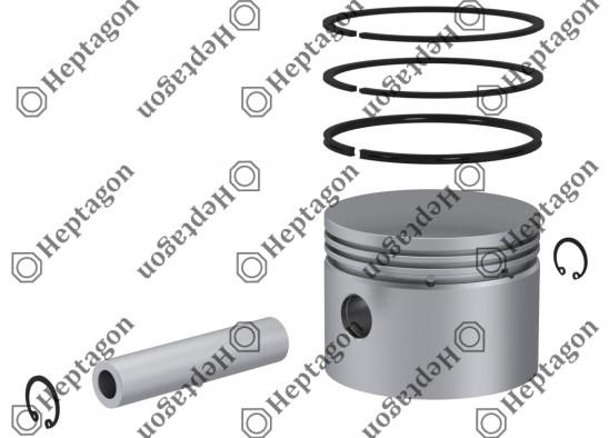 Piston & Ring Ø100.00 mm / 9304 850 046