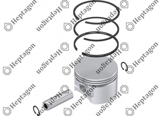 Piston & Ring Ø85.75 mm / 9304 850 054