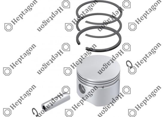 Piston & Ring Ø75.50 mm / 9304 850 058