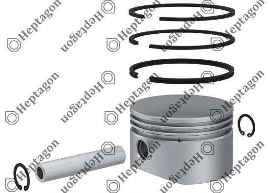 Piston & Ring Ø82.00 mm / 9304 850 071