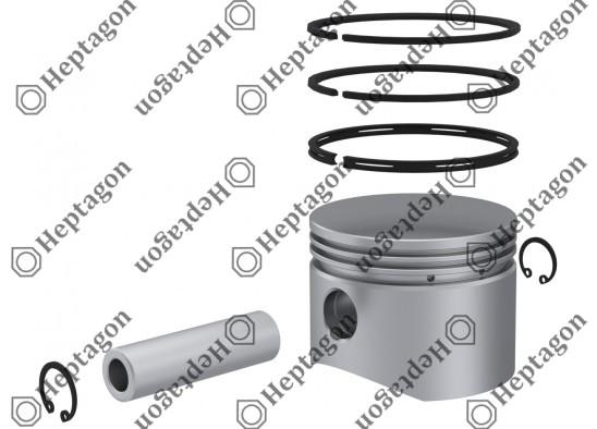 Piston & Ring Ø78.25 mm / 9304 850 082