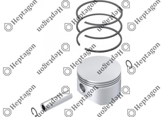 Piston & Ring Ø87.00 mm / 9304 850 090
